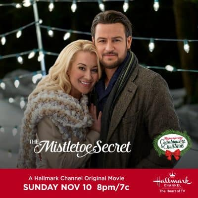 "Hallmark Channel's Premiere of ""The Mistletoe Secret"" 11/10 8 pm et"