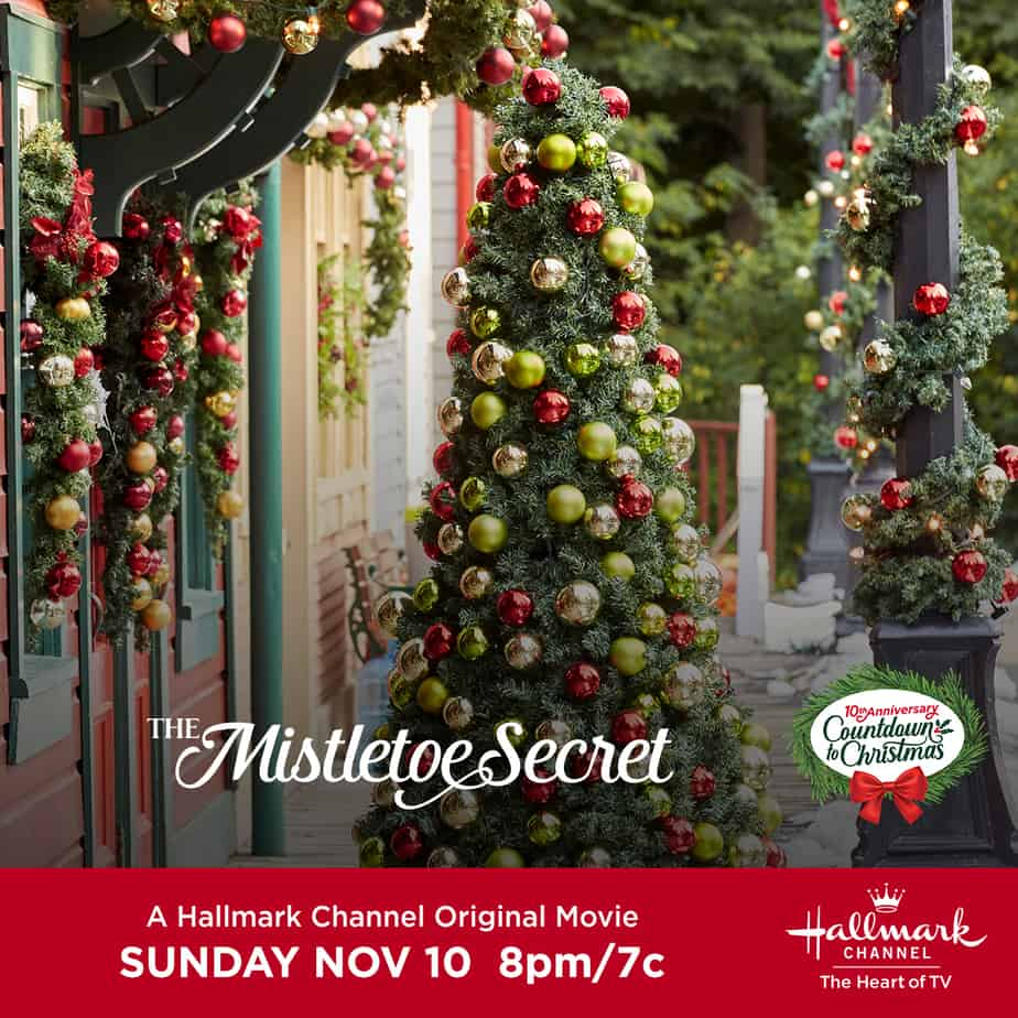 TheMistletoeSecret hallmark christmas movie image