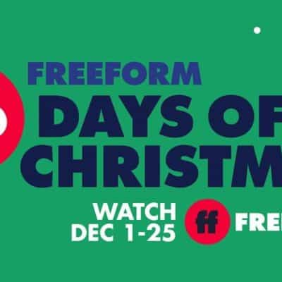 Freeform's 25 Days of Christmas schedule 2020