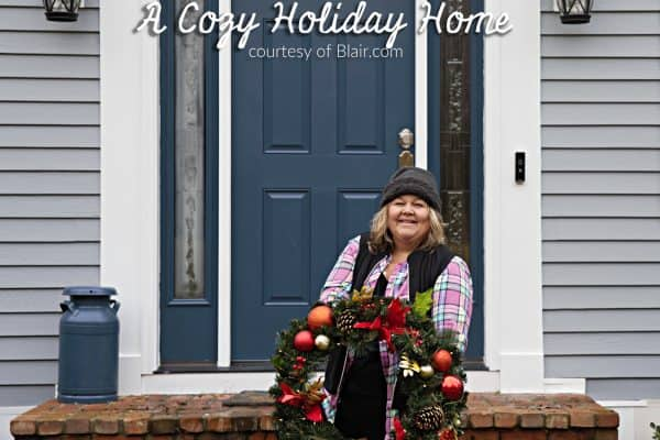 A cozy holiday home from This Mama Loves blog