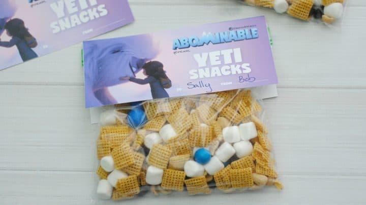 Abominable Yeti Snacks