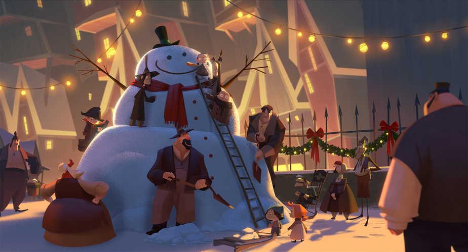 Klaus on Netflix: New Family Christmas Movie