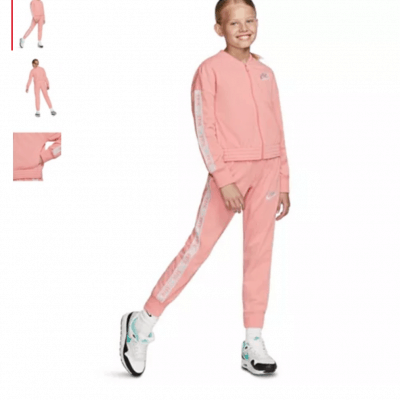 nike girls two piece tracksuit sale