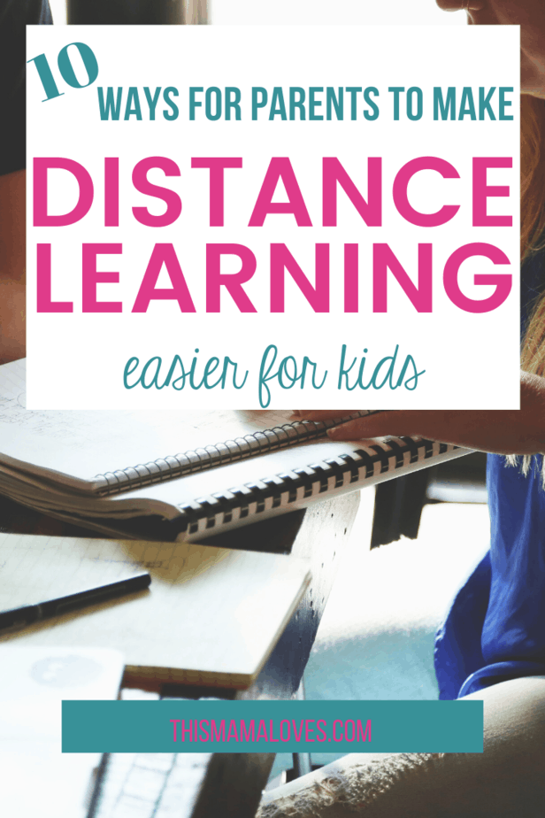 10 ways to make distance learning easier for kids from this mama loves
