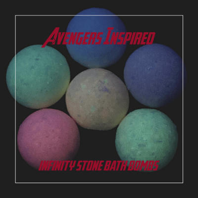Infinity Stones Glow in the Dark Bath Bomb Recipe