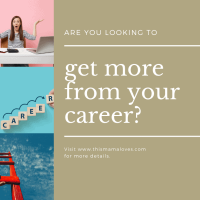 Are You Looking To Get More Out Of Your Career?
