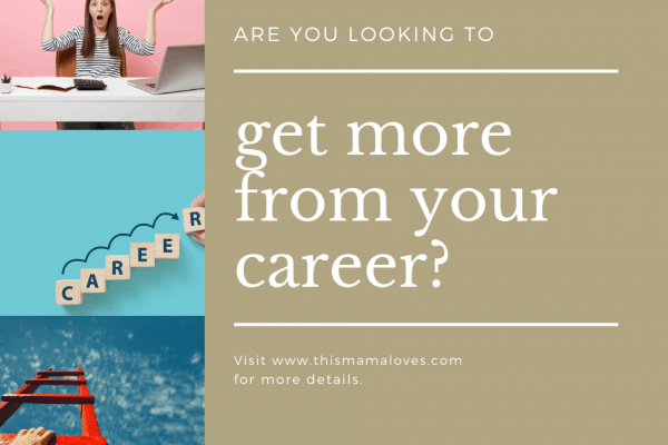 If you're looking to get more out of your career, take some time to figure out what you want, what you are good at, where the need is, and take some risks!