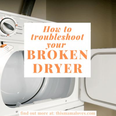 Troubleshooting a Broken Dryer