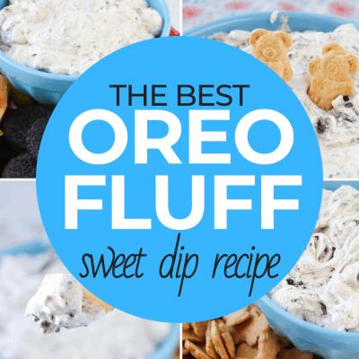 Oreo Fluff Sweeet Dip Recipe