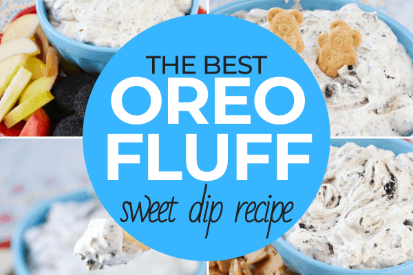 Oreo Fluff Sweet Dip Recipe