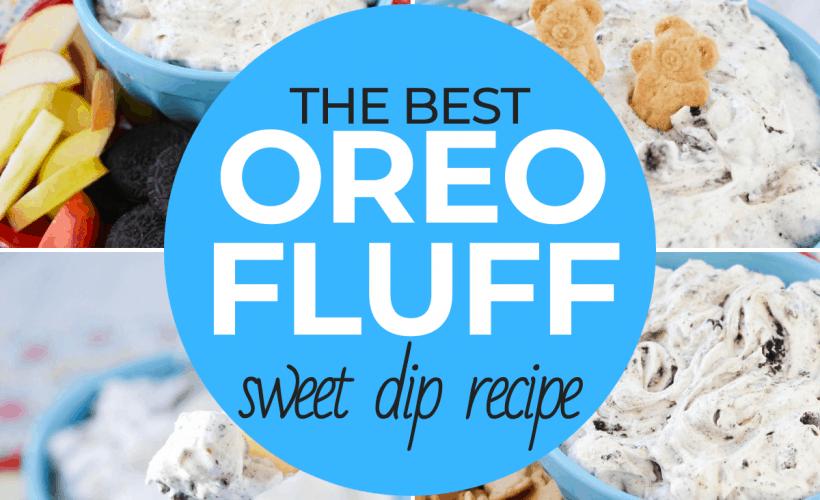 Oreo Fluff Sweet Dip Recipe