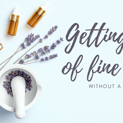 Getting rid of fine lines…without a knife