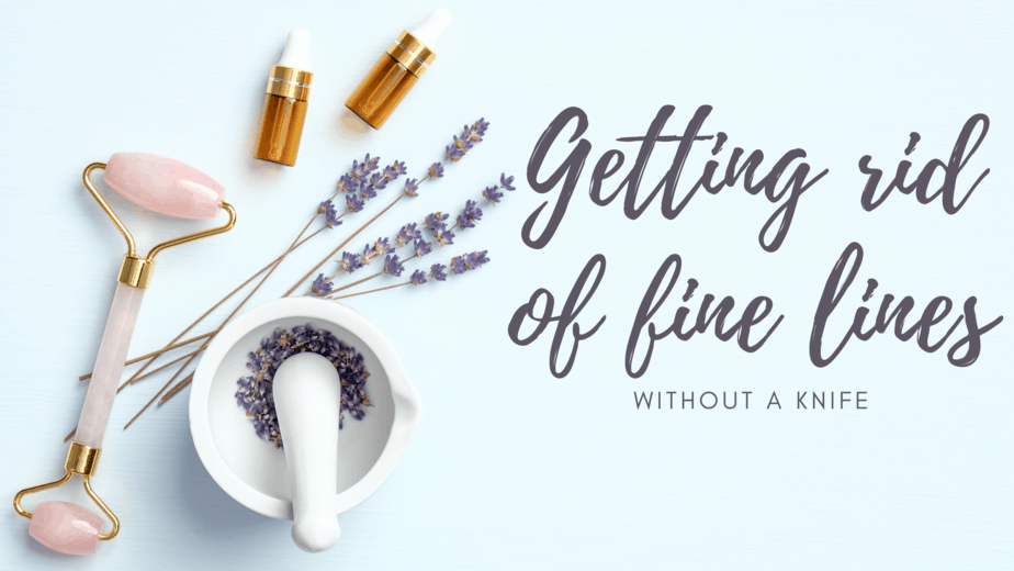 Getting rid of fine lines...without a knife
