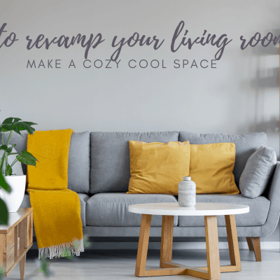 Tips For Revamping Your Living Room This Fall