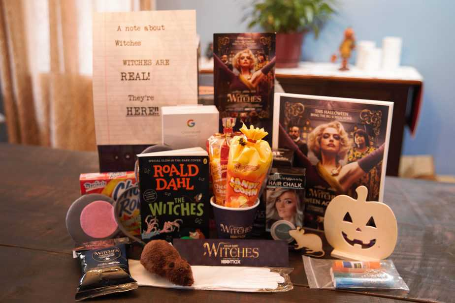 the witches movie prize pack contents
