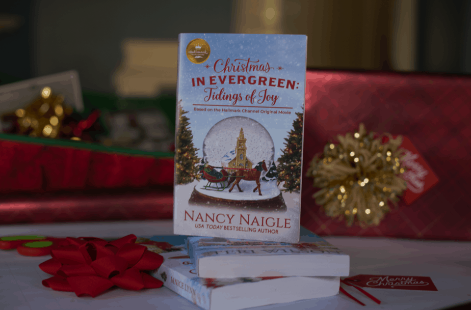 Christmas in Evergreen Tidings of Joy Book