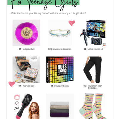 holiday gifts for teens teen girls