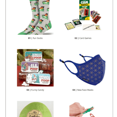 Stocking Stuffer Ideas collage