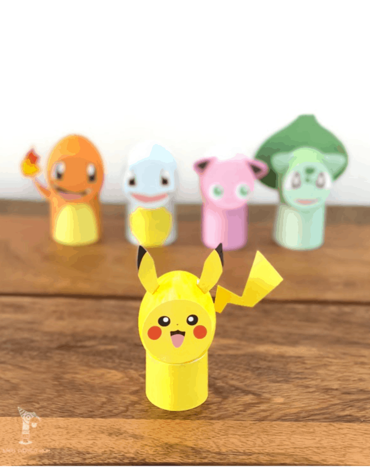 DIY Pokemon Easter Eggs from Simple Everyday Mom