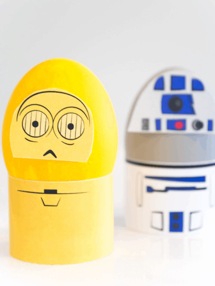 DIY Star Wars Easter Eggs from Simple Everyday Mom