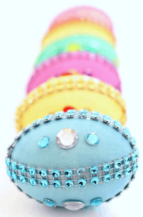 Disney Princess Jeweled Easter Eggs from Fun Money Mom