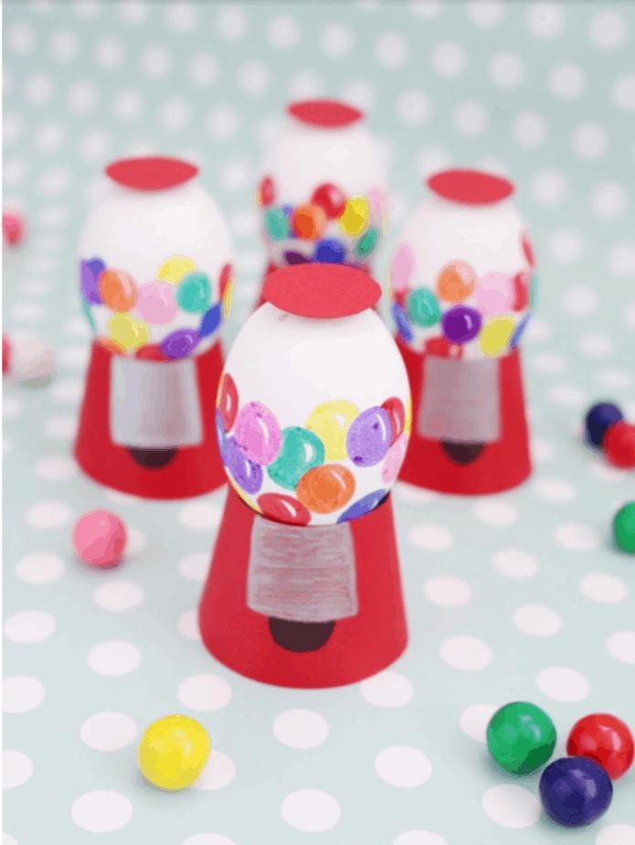 Gumball Machine Easter Eggs from A Joyful Riot
