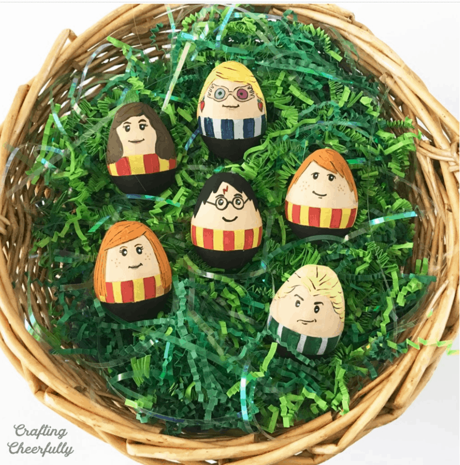 Harry Potter Easter Eggs from Crafting Cheerfully