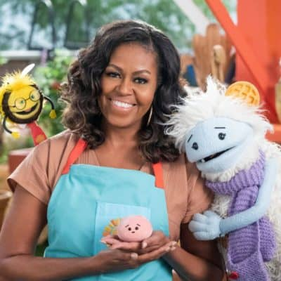 Waffles + Mochion Netflix and Michelle Obama Interview