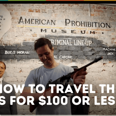 How to travel the US for $100 or less