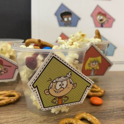 The Loud House Snack Mix