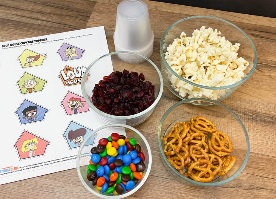 loud house snack mix recipe