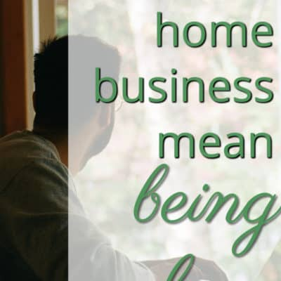 Does A Home Business Mean You're Alone?