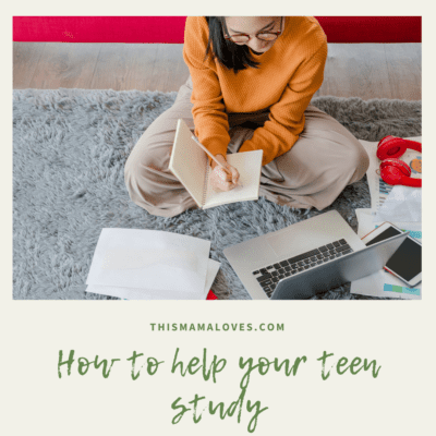 How To Help Your Teen Study
