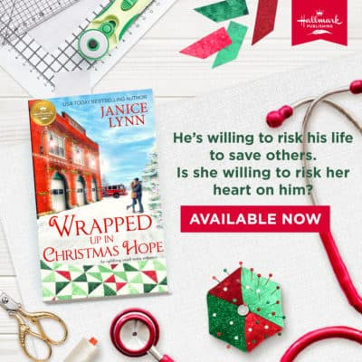 """""""Wrapped Up in Christmas Hope""""out Oct. 26th from Hallmark Publishing Review + Giveaway!"""